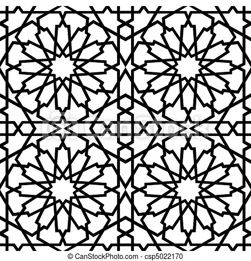 Islamische Sternenmeile BW - csp5022170
