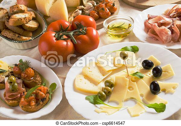 Italienische Vorspeise. - csp6614547