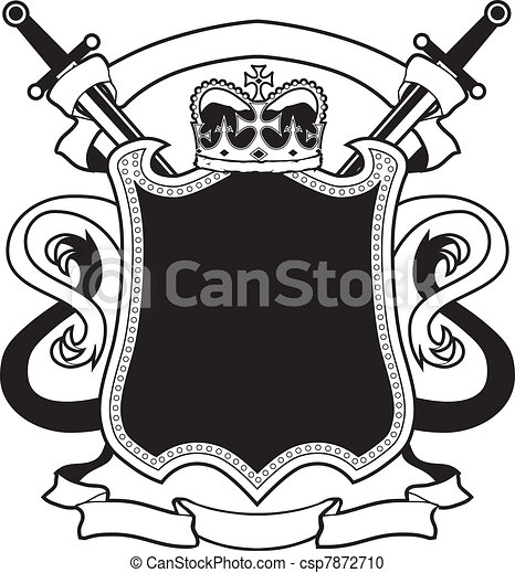 Königs Wappen - csp7872710