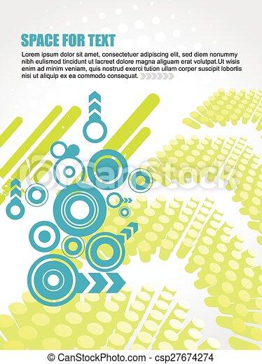 Künstlerisches Design. - csp27674274