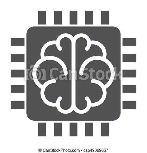 Künstliche Intelligenz. - csp49069667