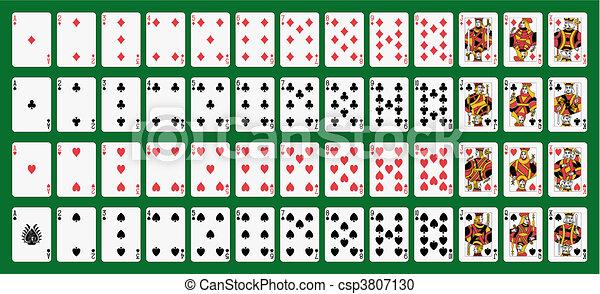 Karten spielen - csp3807130