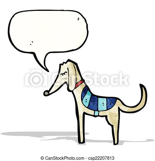 Kartoon Greyhound. - csp22207813