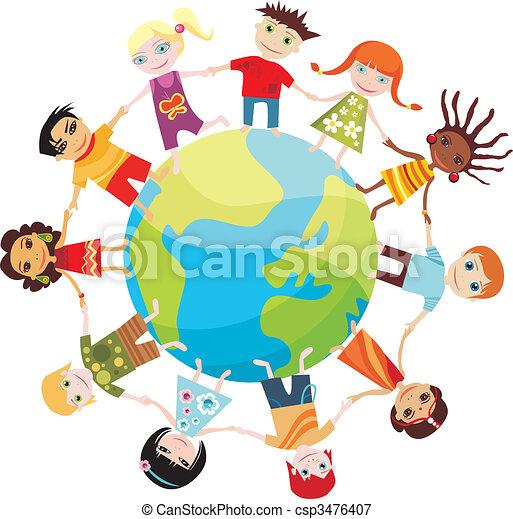 Kinder der Welt - csp3476407