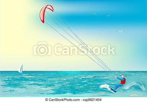 Kite-surfing - csp9921404