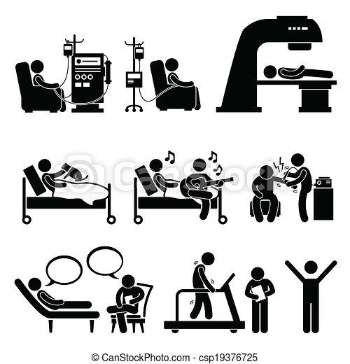 Medizinische Therapie - csp19376725