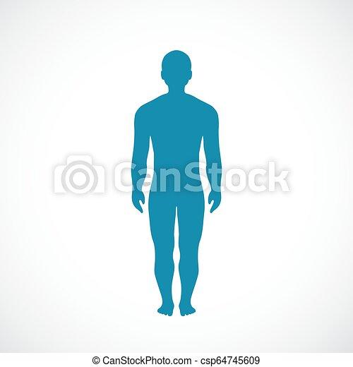 Ikone des menschlichen Körpers - csp64745609