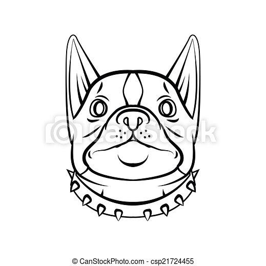 Hundekopf - csp21724455