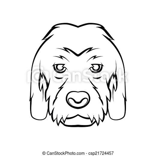 Hundekopf - csp21724457