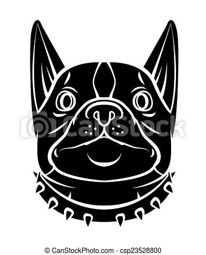 Hundekopf - csp23528800