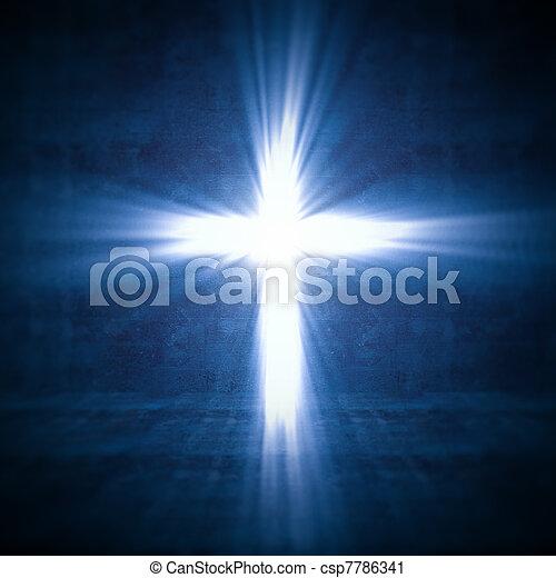 Kreuzlicht - csp7786341