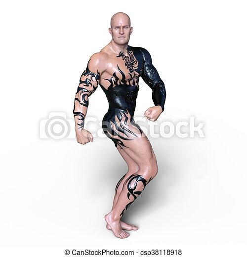 Martial Artist - csp38118918
