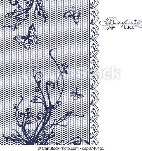 Läce Schmetterlings-Blume - csp8740155