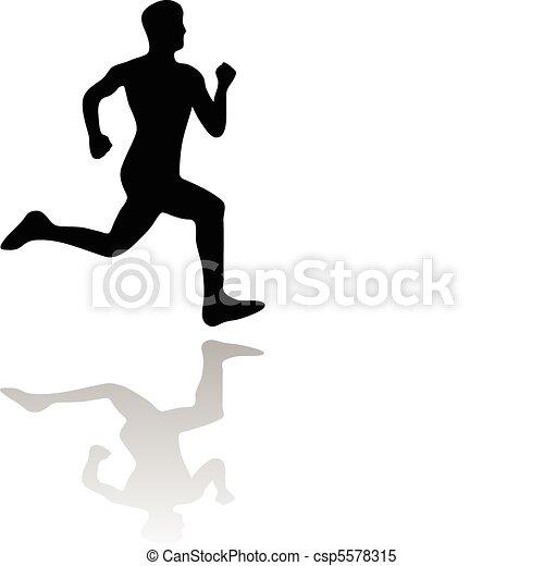 Läufer - csp5578315