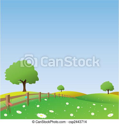 Landschaft - csp2443714