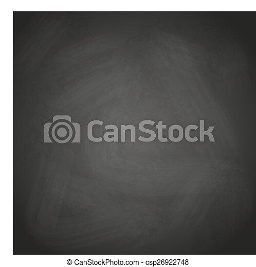 Leere Retro-Balkboard Hintergrund vektor eps10. - csp26922748