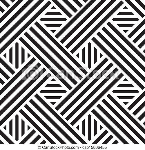 Leichtes Muster mit Quadraten, Vektor Illustration - csp15806455
