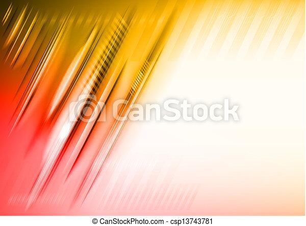 Linien abbrechen - csp13743781
