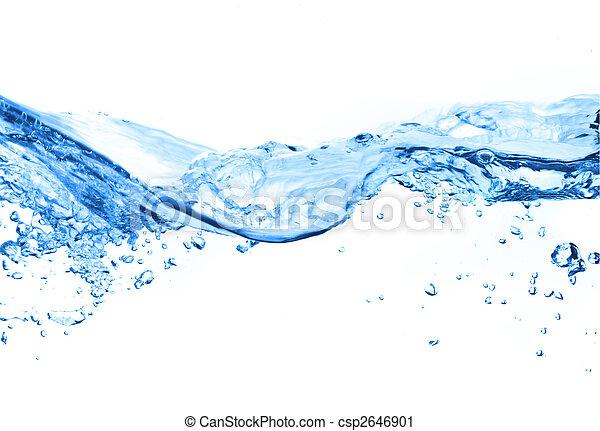 Luftblasen im Wasser - csp2646901