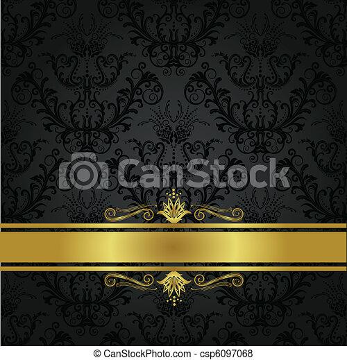 Luxuskohle und Goldbarren - csp6097068