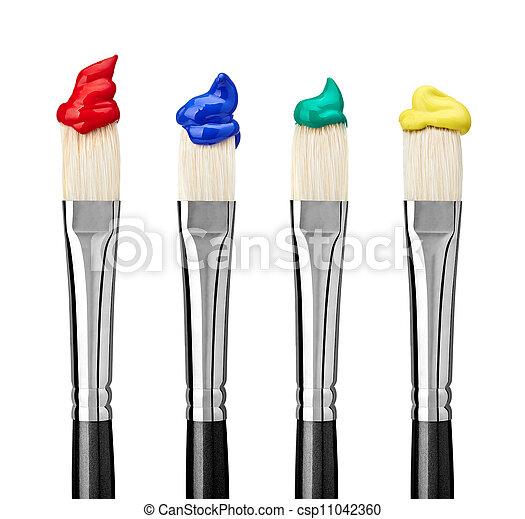Malerkunst und Handwerk - csp11042360