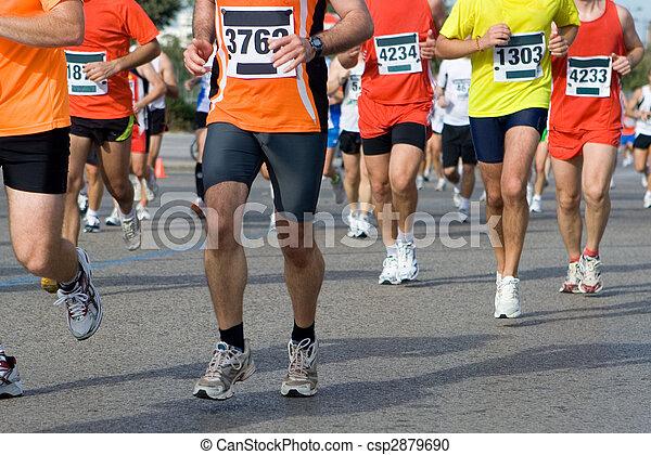 Marathon - csp2879690