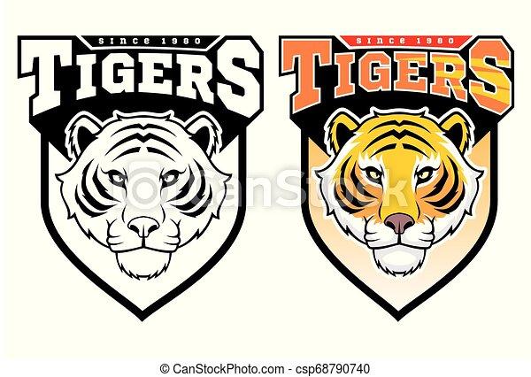 Maskottchen Tiger. - csp68790740