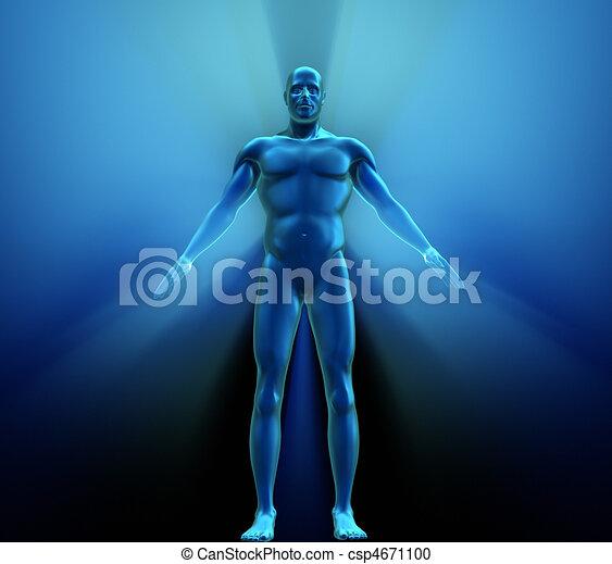 Menschlich - csp4671100