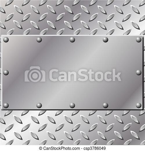 Metall Hintergrund - csp3786049