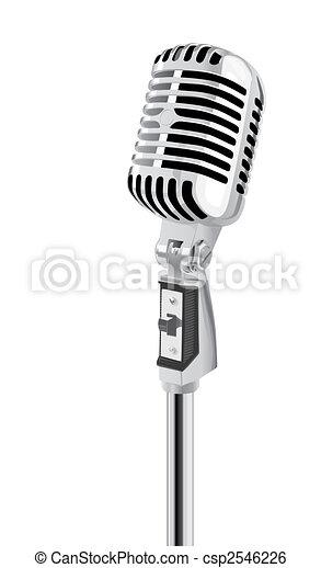 mikrophon - csp2546226