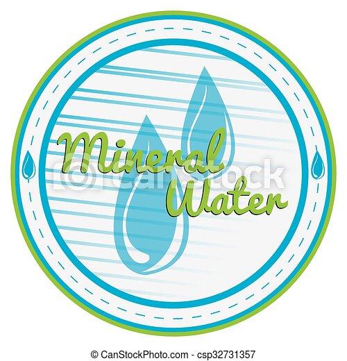 Mineralwasser. - csp32731357
