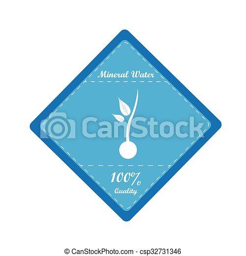 Mineralwasser. - csp32731346