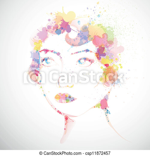 Modefrau - csp11872457
