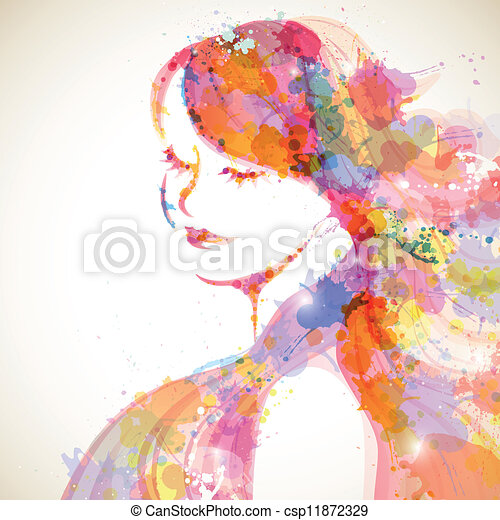 Modefrau - csp11872329