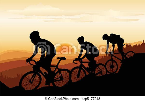Mountainbike - csp5177248