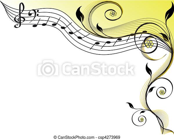 Musik-Thema - csp4273969