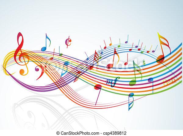 Musikthema. - csp4389812