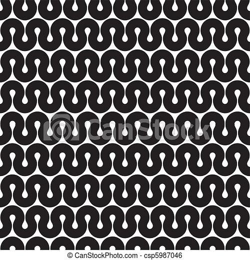 Seamless Muster (vektor) - csp5987046