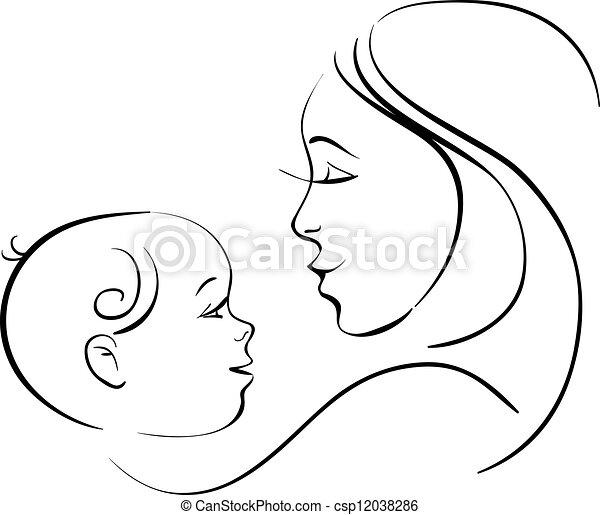 Mutter und Kind - csp12038286