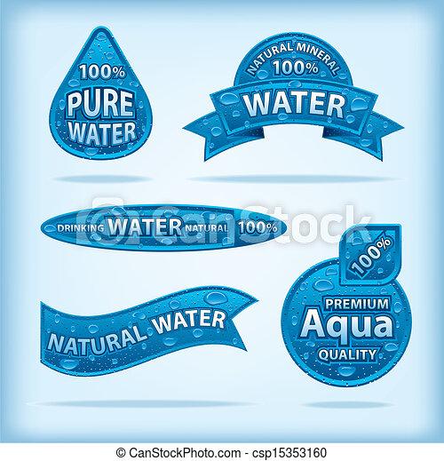 Natürliche Wasserzeichen - csp15353160