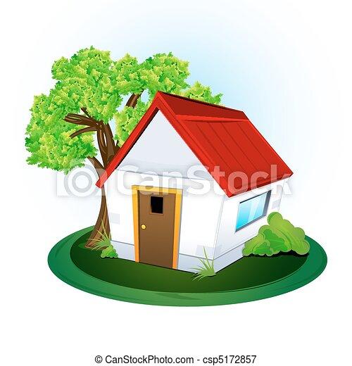 Natürliches Zuhause - csp5172857