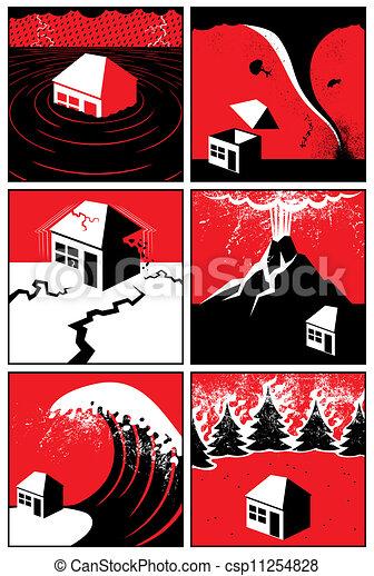 Naturkatastrophen - csp11254828