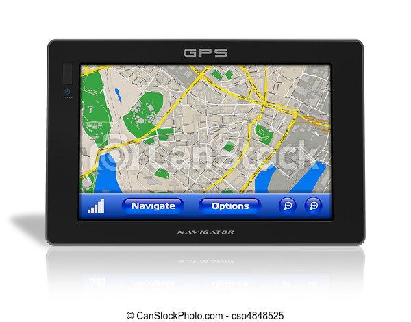 GPS-Navigator - csp4848525