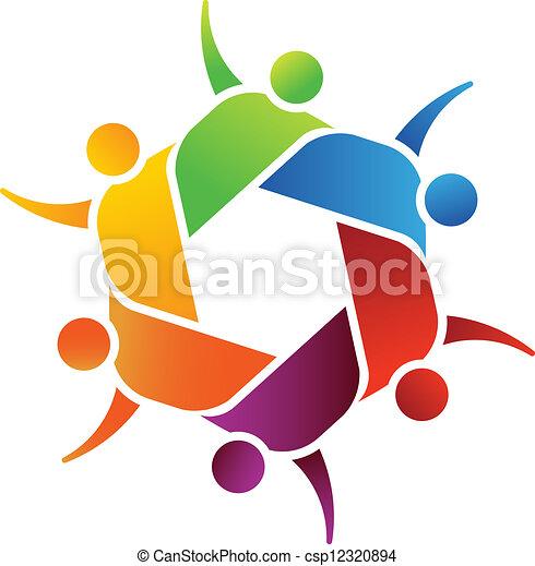 Netzwerkgemeinschaft - csp12320894