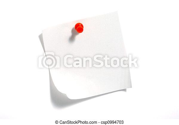 Notizpapier - csp0994703