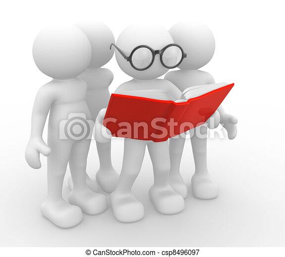 Offenes Buch - csp8496097