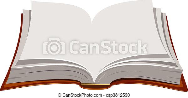 Offenes Buch - csp3812530