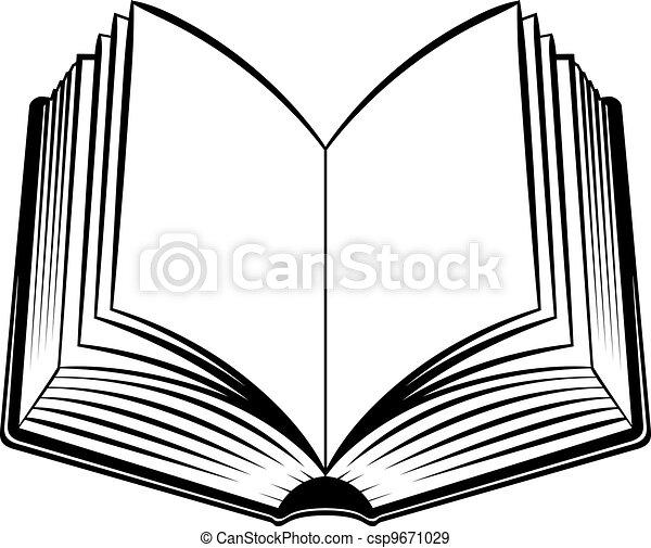 Offenes Buch - csp9671029
