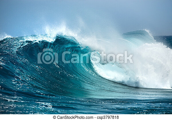 Ozeanwelle - csp3797818