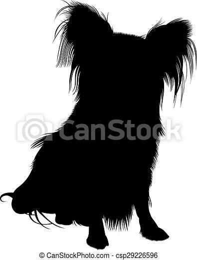 Papillon Hund - csp29226596